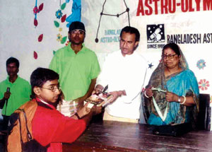 Prize giving of Astro-Olympiad 2006 at Barishal